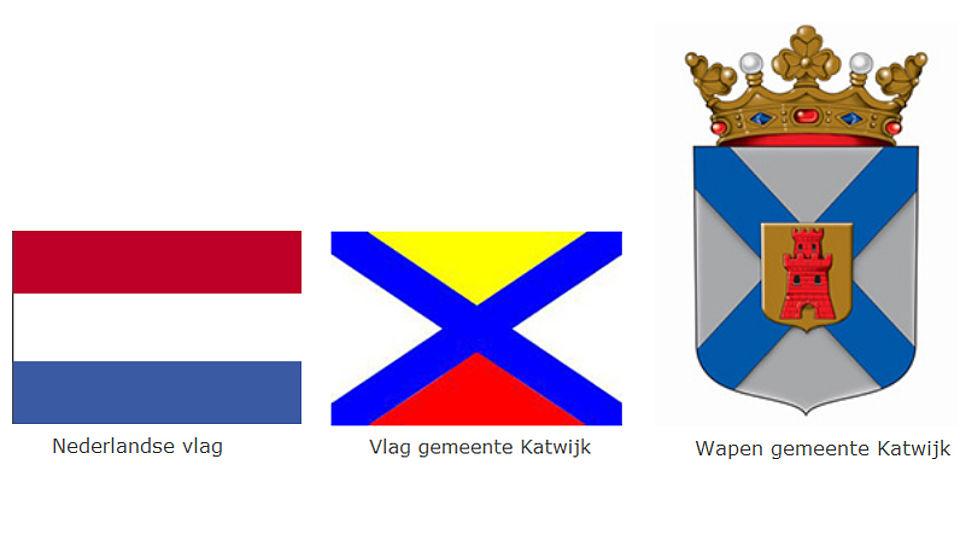 Vlaggen En Gemeentewapen Gemeente Katwijk